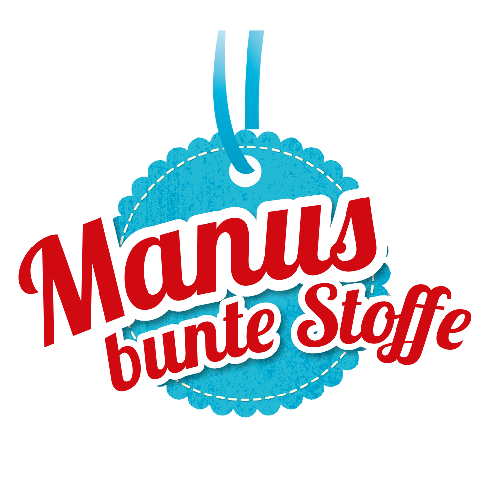 Manu's bunte Stoffe Logo